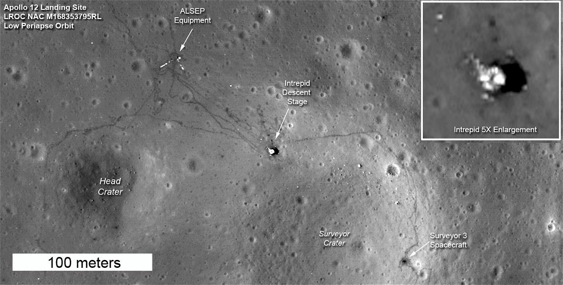 Snímky z místa přistání první mise Apollo 11 však stále chybí a skeptici se  pozastavujou i nad tím adf13c3aa2