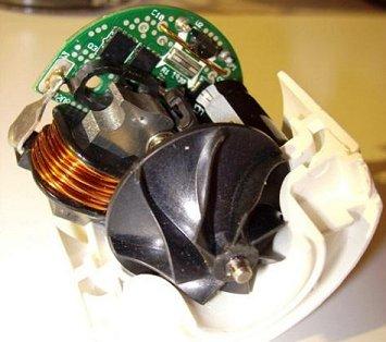 Nová pohonná jednotka Dysonových vysavačů je integrována s kompresorem